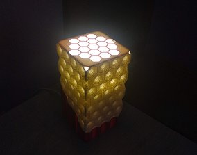 desk lamp hex 3D printable model