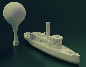 3D print model CSS Teaser