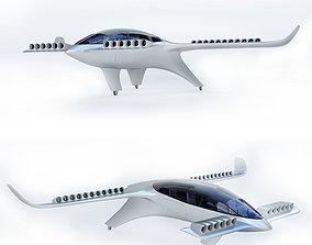 Lilium Jet Flying Taxi P 3D