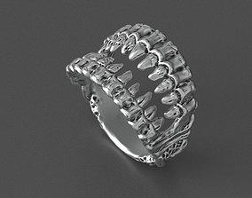 jaws ring 3D printable model