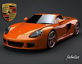 Porsche Carrera GT speed 3D
