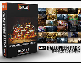 Halloween Pack - 3 in 1 3D model