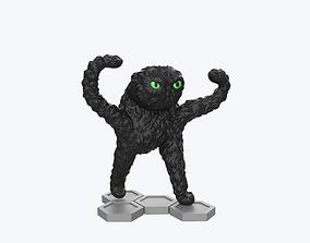 3D print model Angry cat meme