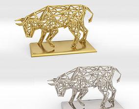 Raging bull toy 3D print model