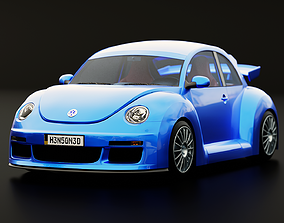 Volkswagen Beetle RSi 2003 3D model