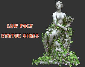 Statue Vines 029 - Low Poly 3D model
