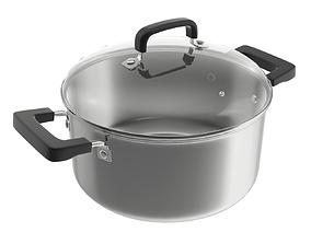 3D Kitchen pot 05 27cm