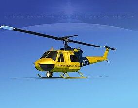 Bell 204 Houston Transport 3D model
