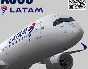Airbus A350-900 XWB LATAM Airlines 3D asset