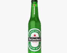 Heineken Beer Bottle 3D amstel