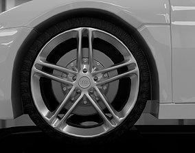 3D rigged hyper Audi R8