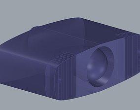 Projector film 3D