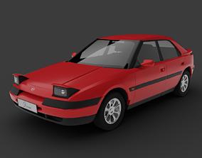 3D model Mazda 323F 1992