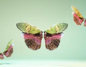 3D asset Butterfly Creoboter Mortis JAVA