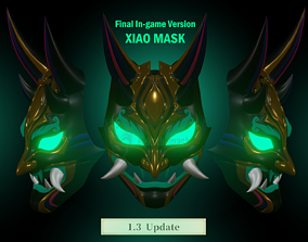 Xiao Mask Version 3 3D Print model