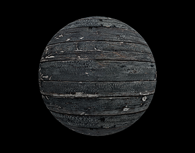 3D Weathered Wood Texture