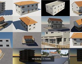 Kit building 3D model architecture