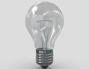 3D asset Light Bulb 3