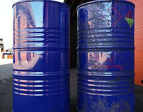 Oil Barrel 3D asset