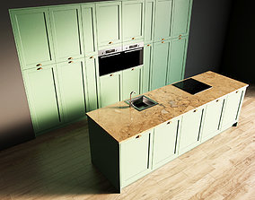 3D model 98-Kitchen2 matte 9