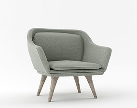 ARMCHAIR furniture armchair 3D