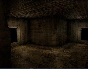 Old Concrete Wall 01 08 3D asset