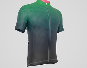 3D Cycling Jersey low-poly