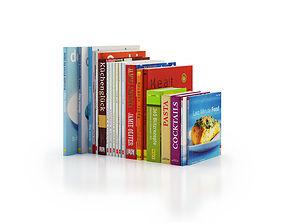 3D model Cookery Books