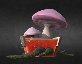 Poison Mushrooms 3D model