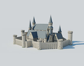 Castle Kit Bash 3D model