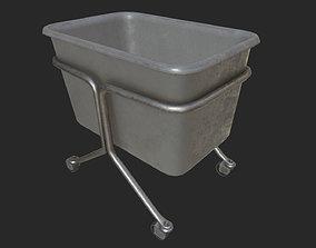 3D model Laundry Cart PBR
