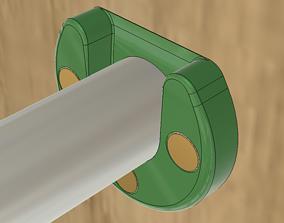 pull-up bar holder bracket 3D printable model