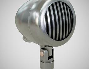 3D model Microphone - American D5T Clean