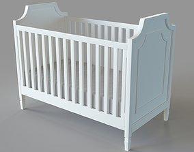 3D model Ava Regency Convertible Crib