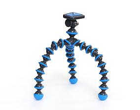 3D rigged Flexible Camera Tripod