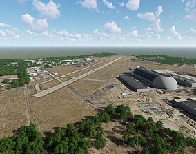 Akron Fulton International Airport 3D