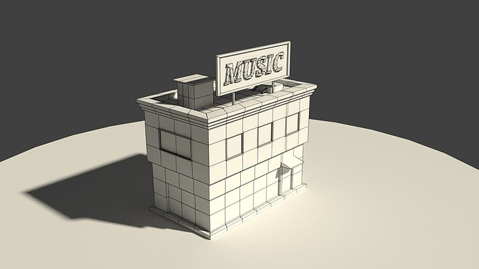 low-poly-music-store-3d-model-low-poly-o