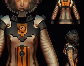 Astronaut 3D spacesuit