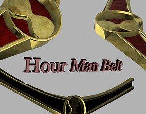 3D print model Hour Man Belt from Star Girl