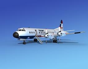 Lockheed L-188 Electra HP Texair 3D model