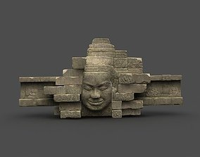 3D asset Angkor Wat Games res model 05