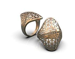 3D print model Openwork ring A0-301205