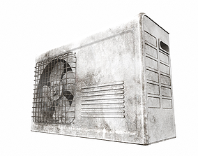 3D Air conditioner outdoor 7b