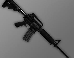 M4A1 carbine 3D asset