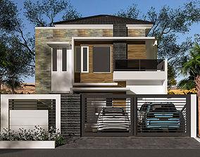 3D model House 10 x 15