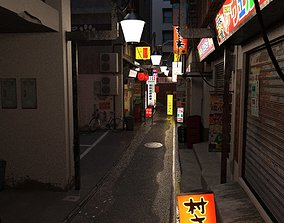 Japanese Alley 3D