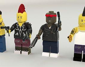 Lego Robbers mini Pack 3D