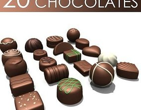 3D 20 Chocolates
