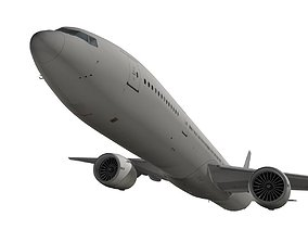 Boeing 777-300ER Generic livery 3D