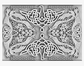3D model Celtic Ornament celt